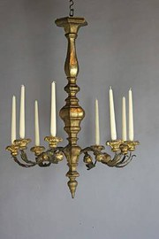 Antique chandelier early 19th