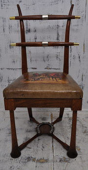 Walnut Hunting Chair C1900
