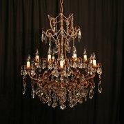 A Florentine Gilded 12 Light A