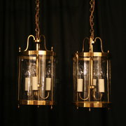 A French Pair Of Triple Light