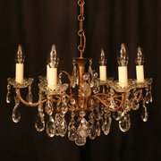 An Italian Gilded 6 Light Anti