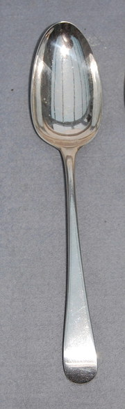 Georgian Silver Table Spoon