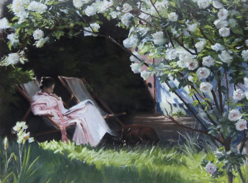 Marc Grimshaw - Reading in the Garden