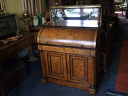 Regency period Cylinder Desk