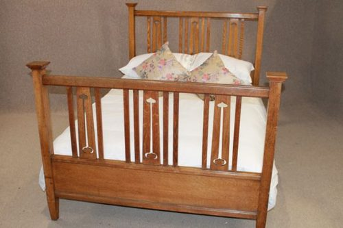 Arts and crafts bed furniture plans for Arts and crafts bed plans