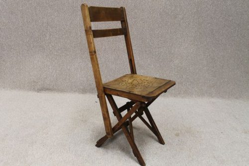 Edwardian Folding Chapel Chairs Antiques Atlas