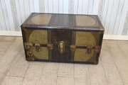 Edwardian travelling trunk sui