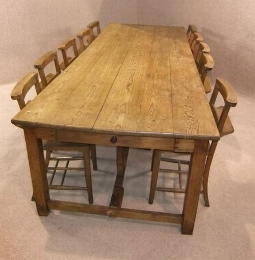 large victorian french farmhouse table antiques atlas - Antique Farmhouse Kitchen Tables