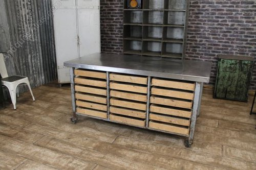 antiques atlas large vintage industrial kitchen island
