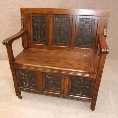 Monks Bench Woodworking Plans
