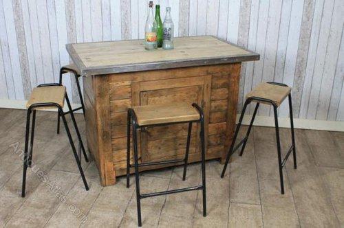 Kitchen Island Vintage home style choices: antique kitchen island