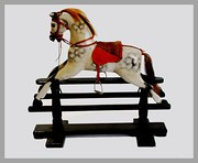 Edwardian Rocking horse Small