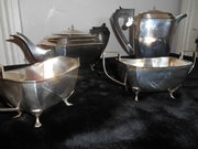 Art Deco 4piece Coffee  Tea Se