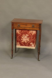 Early 19thc Mahogany Two Drawe