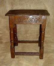 Early 17th Century Carved Oak