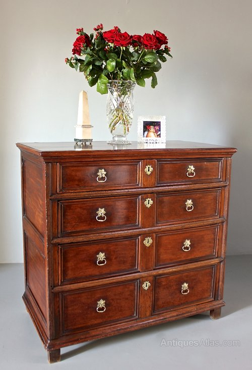 17th Century Cedar Wood Chest of Drawers. U646