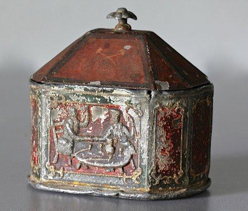 18th Century Lead Tobacco Pot. B75