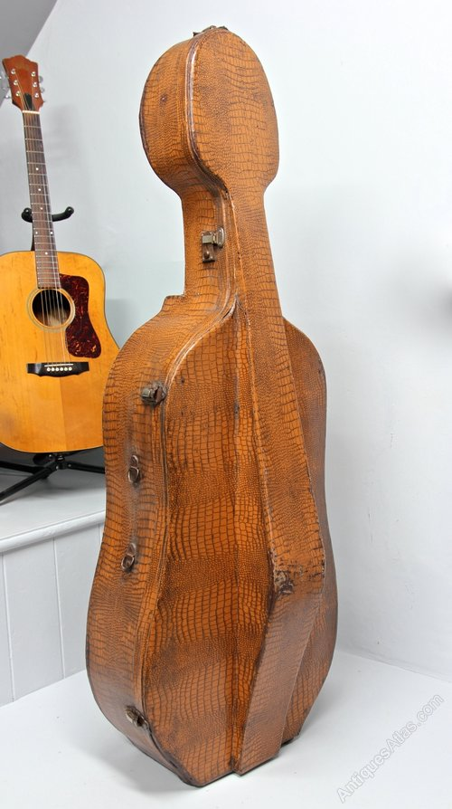 1930s Cello Case by Paxman Brothers London. U904