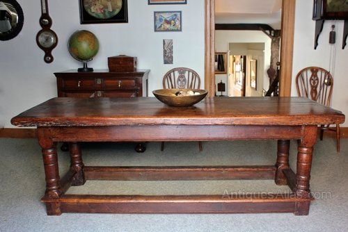 Early 17th Century Joined Oak Centre Table.