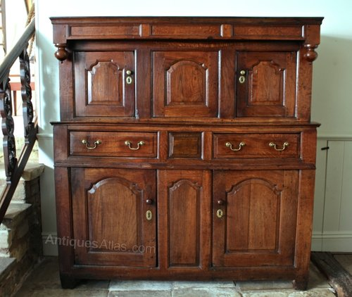 Early 18th Century Oak Court Cupboard. U579