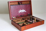 Edwardian Mahogany Boxed Games