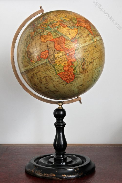 Geographia 10 inch Terrestrial Globe.