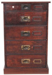 Small Edwardian mahogany chest