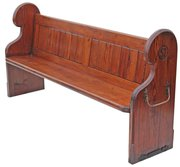 Victorian 19C pitch pine churc
