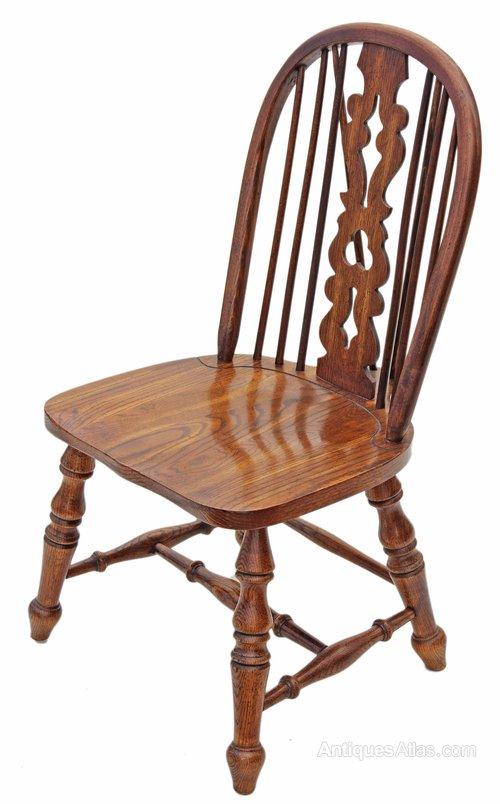 Antiques Atlas Victorian Revival Elm Oak Windsor Dining Chair