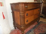 French Marble Top Chest