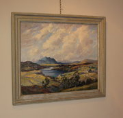 Loch Noir oil by John Wilson F