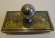 Antique English Hunt Scene Rol
