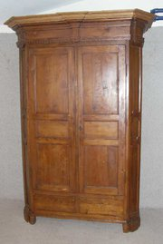 Fruitwood 2 Door Armoire