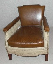 Leather Stubbs Armchair