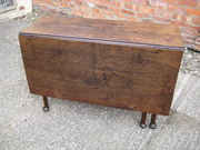 OAK drop leaf table C1770