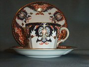 Royal Crown Derby Trio 1930s