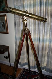 Telescope on stand 20th  centu