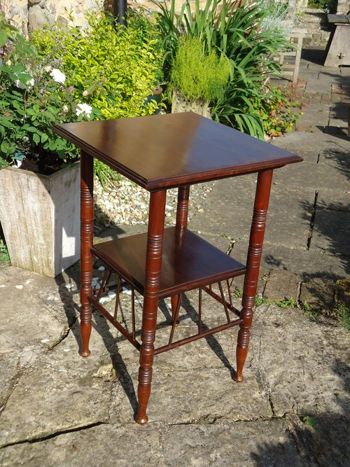 Aesthetic movement Walnut table - Godwin