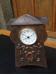 Arts & Craft Cornish school mantle clock