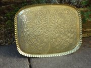 Arts & Crafts Brass Fivemiletown tray