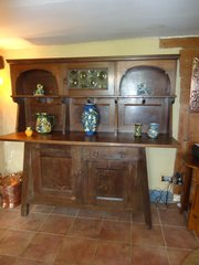 Arts & Crafts Culloden oak dresser for Liberty
