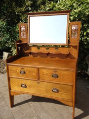 Arts & Crafts Dressing Chest. Shapland & Petter