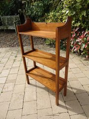 Arts & Crafts Heals oak bookshelves