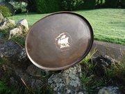 Arts & Crafts Hugh Wallis Tray with galleon