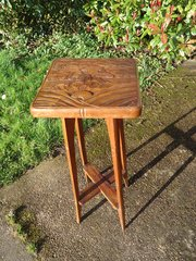 Arts & Crafts Japanese Plant Stand fo Liberty