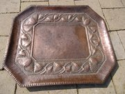 Arts & Crafts John Pearson copper tray
