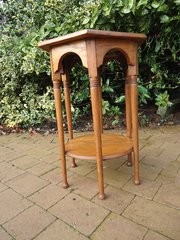 Arts & Crafts Moorish oak table