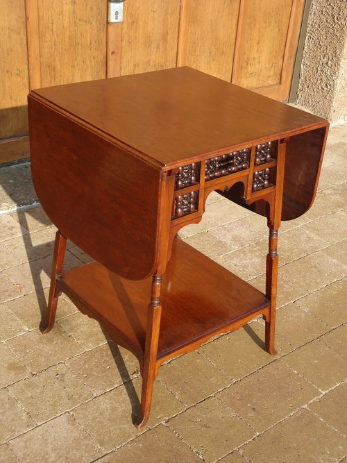 Arts & Crafts Moorish table for Liberty