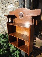 Arts & Crafts Oak Wall shelves. Shapland  & Petter