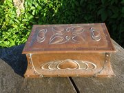 Arts & Crafts Pool of Hayle copper games box